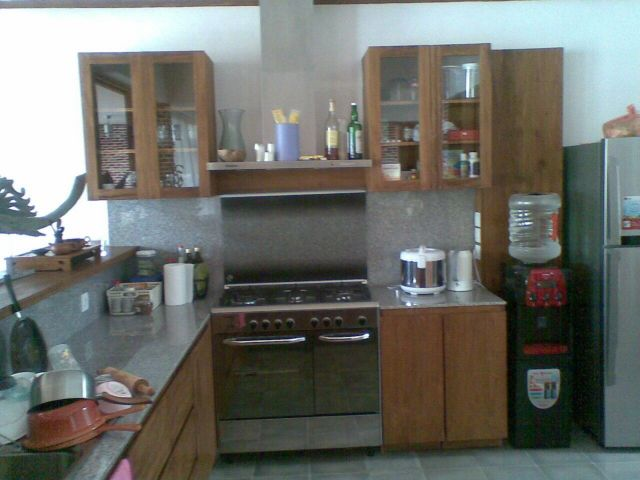 set product we also made teak wood kitchen set with custom design please see our other project for more photo and information about our design and - Kitchen Set Furniture